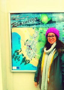 Map loving in Anglesey